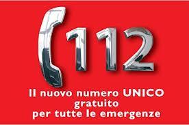 112 Numero di Emergenza Unico per l'Europa